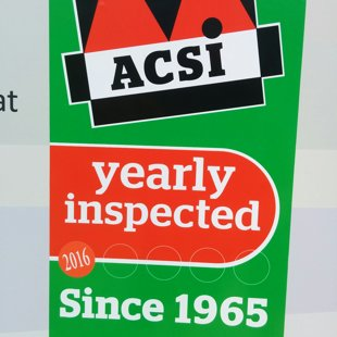 We are inspected by ACSI