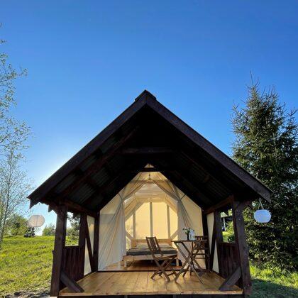 Lakeside camping - Glamping