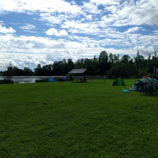 We are not in Gauja National Park but we have a lake
